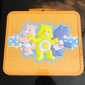 Rare‼️Vintage Care Bears Lunch Box